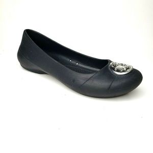Crocs Gianna Disc Comfort Flats Shoes Size 7